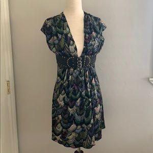Silk Sky Top Tunic/Dress